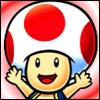 Les nouveaux avatar nintendo Toad