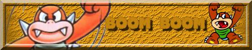 Les signatures nintendo Boomboom