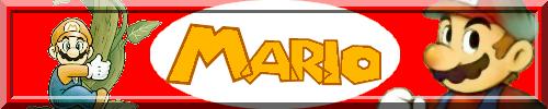 Les signatures nintendo Mario