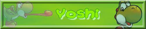 Les signatures nintendo Yoshi