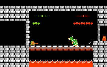 les trucages nintendo Link-bros